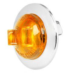 """1"""" LED Wide Angle Mini Light with Chrome Bezel"""