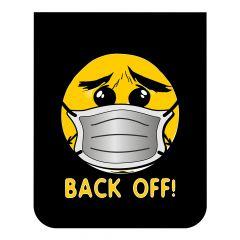 """24""""W x 30""""L Emoji with Mask Back Off Mud Flap (EA)"""