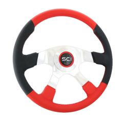 4 Spoke Leather Comfort Steering Wheel 18""