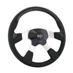 4 Spoke Traveler Steering Wheel 18""