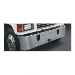 "Mack CHU CHN613 17"" Set Forward Chrome Bumper"