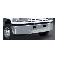 "GMC C4500 C5500 14"" Set Back Axle Chrome Bumper"