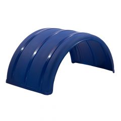 Scratch & Dent - Blue Poly Single Axle Fender