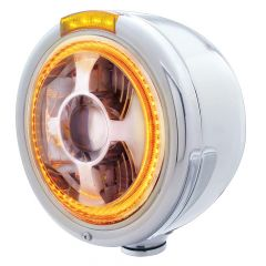 Bullet Half Moon LED Projection Headlight & Turn Signal