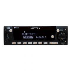 Aptiv Heavy-Duty AM/FM/WB Front Panel USB/Bluetooth