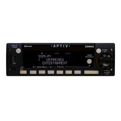 Aptiv HD AM/FM/WB w/ Front Panel USB SXM Satellite and Bluetooth