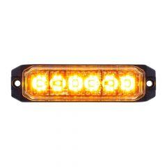 6 LED High Power Slim Warning Light