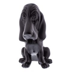 Black Basset Hound Ornament