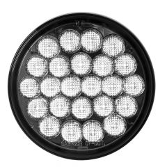 """4"""" Pearl 24 LED White Back Up Light with Smoke Lens"""