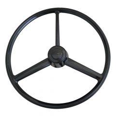 """20"""" 3 Spoke Retro Blackout Steering Wheel"""