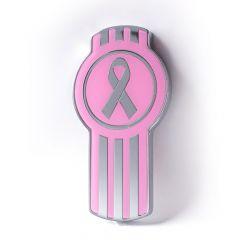 Kenworth Emblem with Breast Cancer Awareness Design