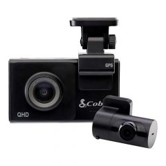 Cobra SC 200 Configurable Smart Dash Cam with Rear View Module