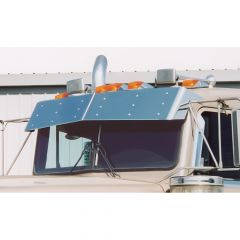 Kenworth Flat Windshield Bow-Tie Visor (1999-2005)
