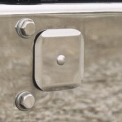 Kenworth W900 Spring-Mount Tow Pin Covers