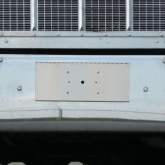 PB, FL Wide Single Plate Holder and Tow Pin Cover