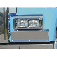 Kenworth W900L Solid Mount Fender Guards