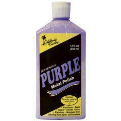 California Custom Purple Metal Polish 12 oz.