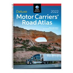 2022 Rand McNally Deluxe Motor Carriers Road Atlas