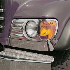 Mack CH Under Headlight Fender Guard Trim for Set Forward Axles