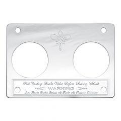 Peterbilt Small Parking Brake Statement Plate