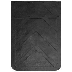 """24""""W x 36""""L Black Rubber Mud Flap (EA)"""