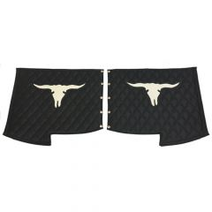 Peterbilt 379 Cow Skull Quilted Fender Guards