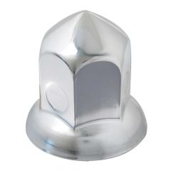 33mm Chrome Steel Cone Nut Cover - Push On 10PK