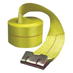 "Winch Strap with Flat Hook 4"" x 40'"