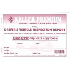 Driver's Vehicle Inspection Report (Carbonless)