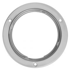 "Stainless Steel 4"" Flange Mount Rim"