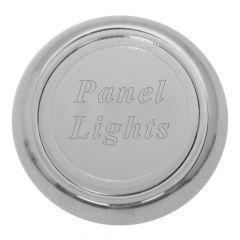 Chrome Aluminum Panel Light Dash Knob