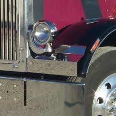 PB 359 Fender Guards for JLite Bracket Headlights