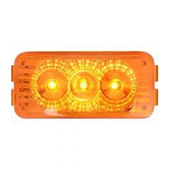 """2-1/2"""" 3 LED Rectangular Spyder LED Light"""