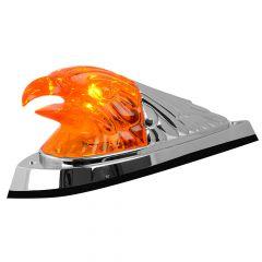 Incandescent Large Eagle Head Amber Cab Light