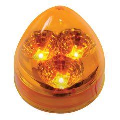 """2"""" Amber 3 LED Beehive Spyder Light"""