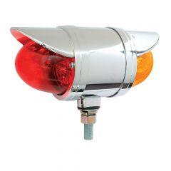 "3-1/2"" Double Face Spyder LED Light with Visor"