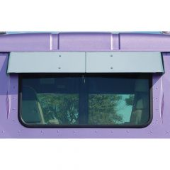 International Day Cab Rear Window Drop Visor
