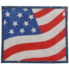 Abstract American Flag Bugscreen