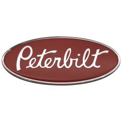 "Peterbilt 12"" Chrome Emblem"