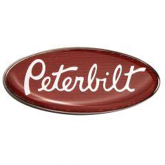 """Peterbilt 3"""" Chrome Interior Emblem"""