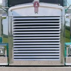 Kenworth W900L Horizontal Louver-Style Grill Bars