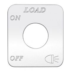 Freightliner Load Light Switch Plate
