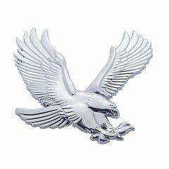 3D Chrome Eagle Accents Tape Mount