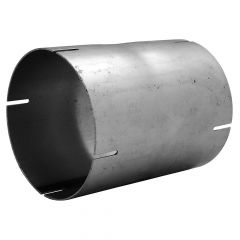 """5""""ID x 6.5""""L Carbon Steel Straight Tube Coupler"""