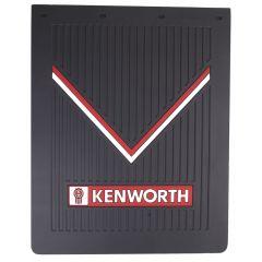 "24""W x 30""L Black Rubber Kenworth Mud Flap (EA)"