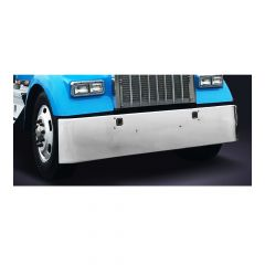 Kenworth W900L 18-Inch Texas Square Chrome Bumper
