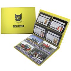 CAT Scale Super Trucks Card Collector Book
