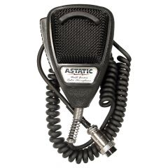 Astatic 636L-SE 4 Pin CB Mic Black Anniv. Edition