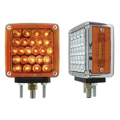 "4"" Pearl Square Double Face LED Light"