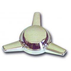 Chrome Plastic Spinner, Left